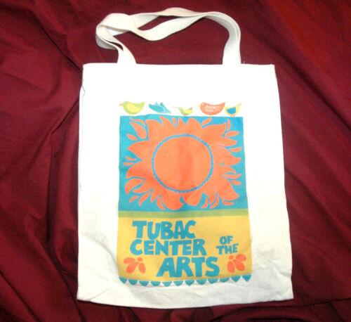 Rare TUBAC CENTER OF THE ARTS Canvas TOTE BAG Reusable Shopping VTG Arizona