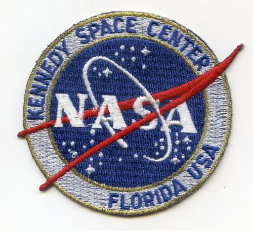 NASA Meatball Emblem Kennedy Space Center Florida Patch-FREE Shipping from U.S.