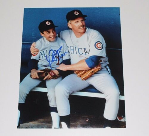 THOMAS IAN NICHOLAS SIGNED ROOKIE OF THE YEAR CHICAGO CUBS 11x14 PHOTO COA PROOF