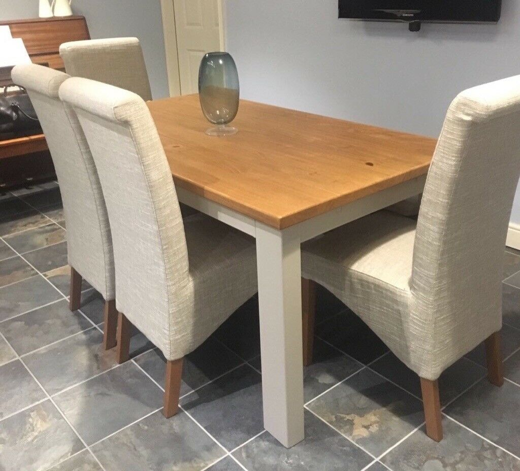 Next Hartford Dining Table With Chairs Bench