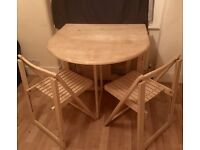 Folding Table and Folding Chairs