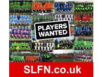 RECRUITING NEW PLAYERS FOR 20/21 SEASON. PLAY 11 ASIDE FOOTBALL IN LONDON. 8IJ