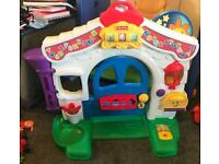 Laugh and learn fisher price home door