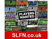 Looking for extra players to join our 11 aside football team PLAY FOOTBALL IN LONDON