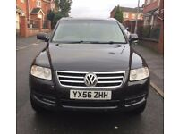 56Volkswagen Touareg 3.0 V6 Tdi SE A 5dr Auto,MOT 08/11/18NAVIGATION,6CD CHANGER,LEATHER/07459871313