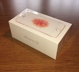 iPHONE SE SEALED BOX 32GB ROSE GOLD EE NETWORK ONLY £160