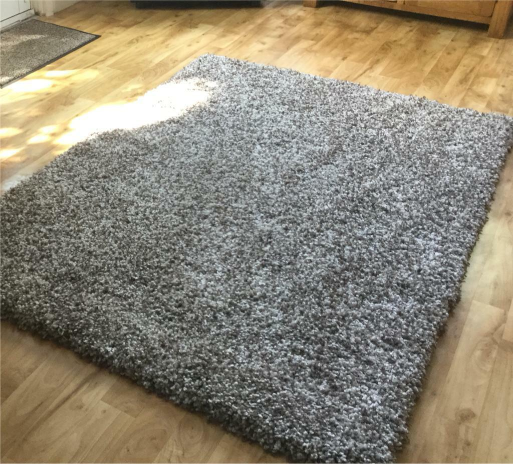 Chocolate Brown And Cream Rug In Ipswich Suffolk Gumtree