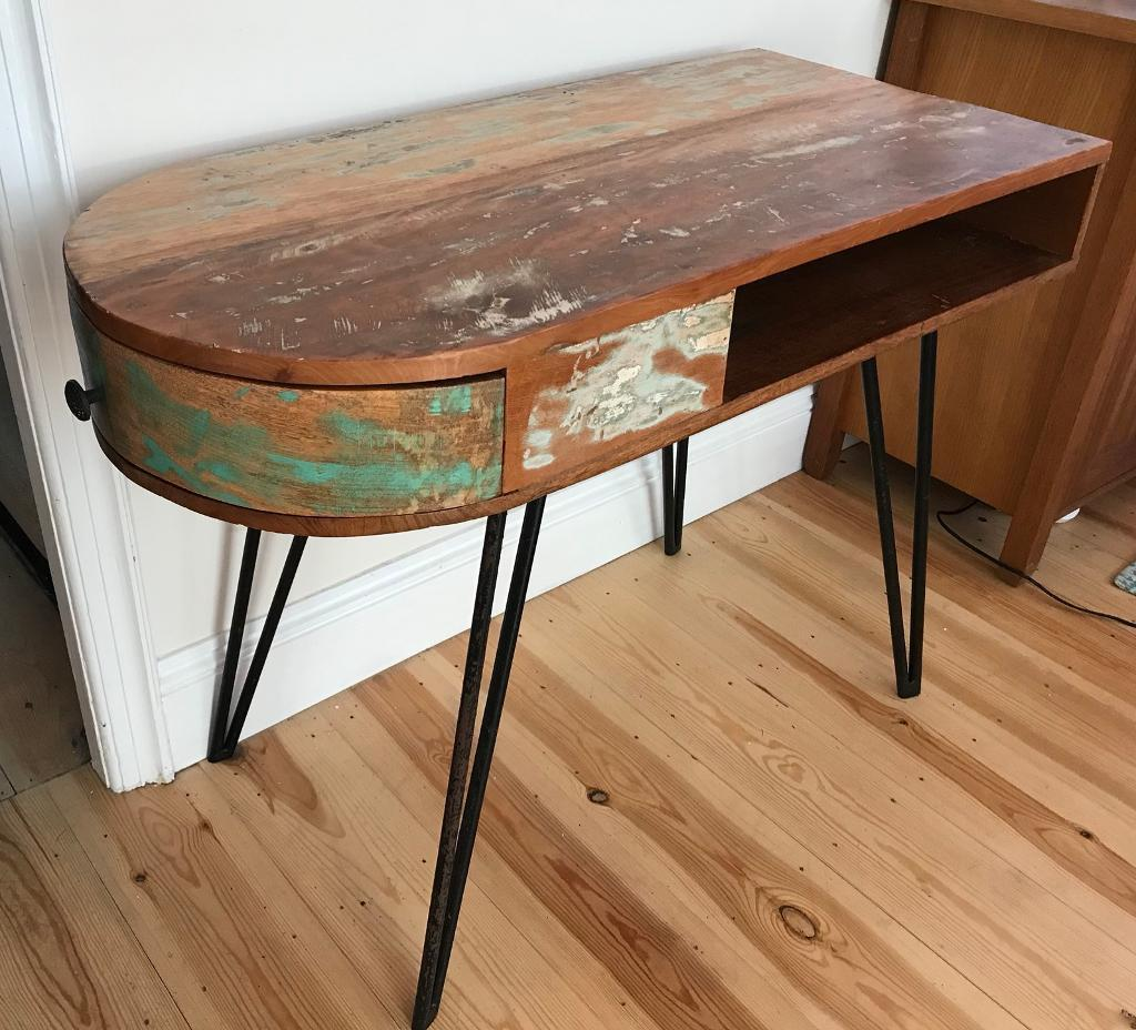 Handmade Desk Table Reclaimed Solid Wood