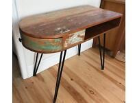 Handmade desk/ table (reclaimed solid wood)