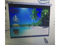 Abis electric HD 150 Projector screen
