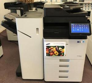Latest Current Model 11x17 Samsung MultiXpress SL-X7600LX 7600 Colour Copier with finisher