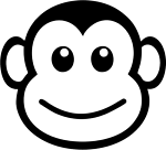 Sticker Monkey