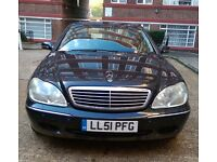 2001 Mercedes-Benz S Class S280 4dr AUTO FULL SERVICE HISTORY WARRANTY (t-z awesome-cars)
