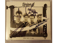 Union J - You Got It All SIGNED UK Cd Single George Jaymi Josh JJ