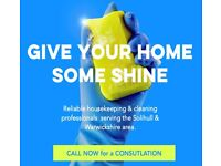 No time to clean your home? Treat yourself & give your home a deep clean for Christmas! - Solihull