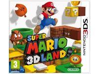 Super Mario 3D Land (Nintendo 3DS) - SOLD AS SEEN