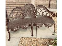 Garden bench/ loveseat