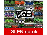 LONDON FOOTBALL: looking for new football players - Saturday mens 11-a-side