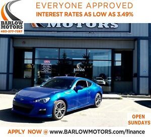 2013 Subaru BRZ Sport-tech**AMVIC INSPECTION & CARPROOF PROVIDED