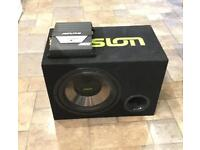 FUSION Subwoofer with 2 channel AMP