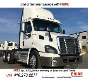 2017 Freightliner DAY CAB LOW KMS