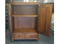 Ethan Allen. Cabinet wired for entertainment/TV centre. £2000 new