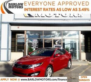 2013 Kia Optima EX Turbo*EVERYONE APPROVED* APPLY NOW DRIVE NOW.