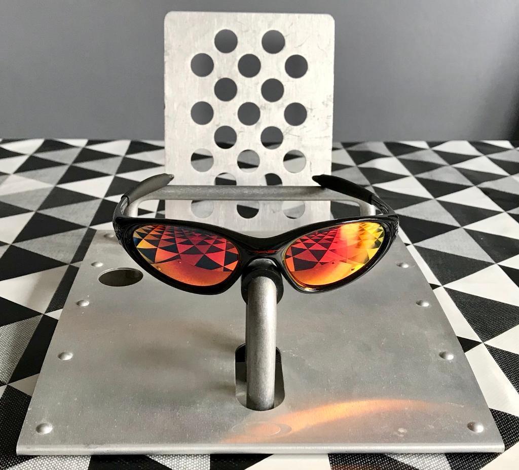a87157cba52 Oakley Minute Jet Black Ruby Sunglasses