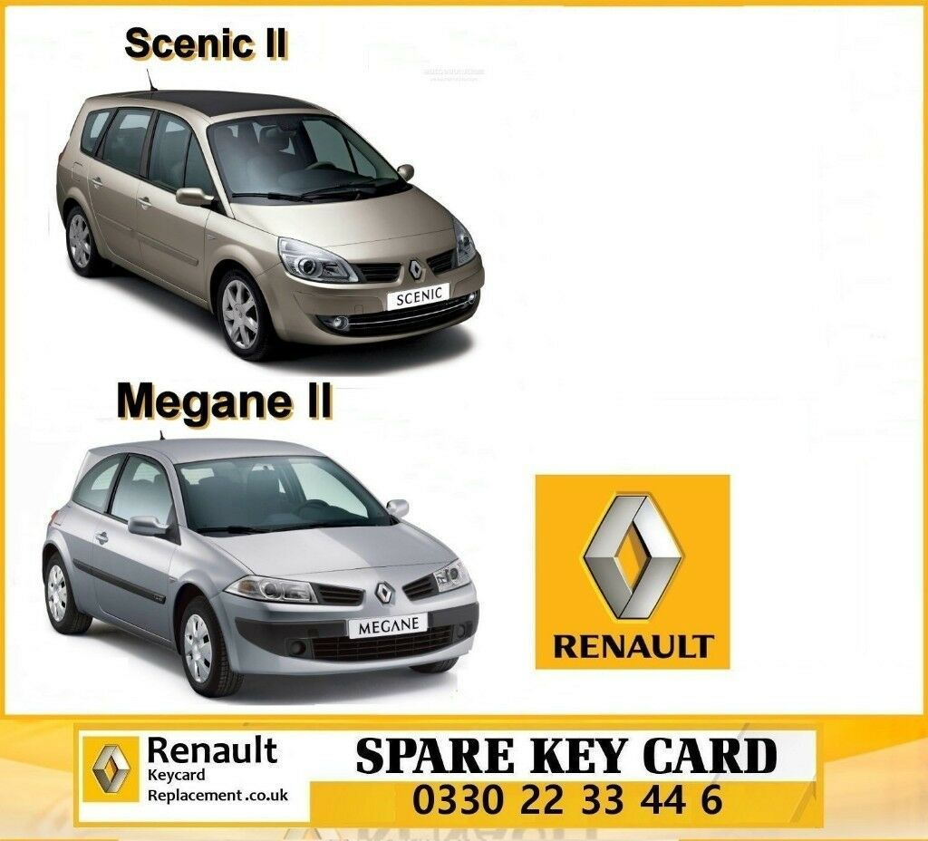 Renault key card not detected Not Opening Locking Starting problems