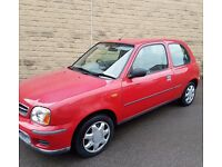 NISSAN MICRA AUTOMATIC 1.0 WARRANTED MILES FULL MOT 1 MONTH FREE WARRANTY