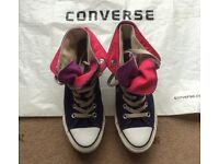 Converse All Star hi tops sneakers casual shoes trainers, size UK 5 (38) - Larne/Belfast, £15