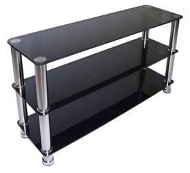 URGENT Glass TV stand three tier