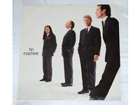TIN MACHINE DAVID BOWIE 1989 VINYL LP