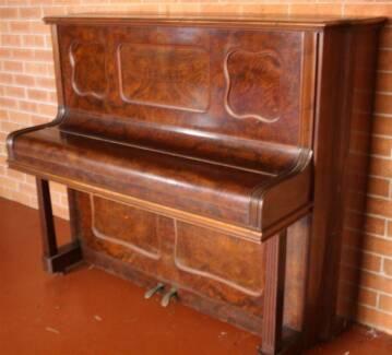 R Lipp & Sohn Stuttgart Upright Piano Collaroy Manly Area Preview