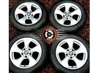 "16"" Genuine BMW alloys Trafic Vivaro goid condition excellent premium tyres."