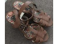 Size 6 wedge sandals