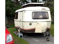 Eriba Pan Familia 3 Berth Caravan 80s Classic Retro Glamping