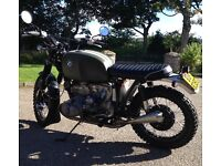 BMW R100 scrambler custom