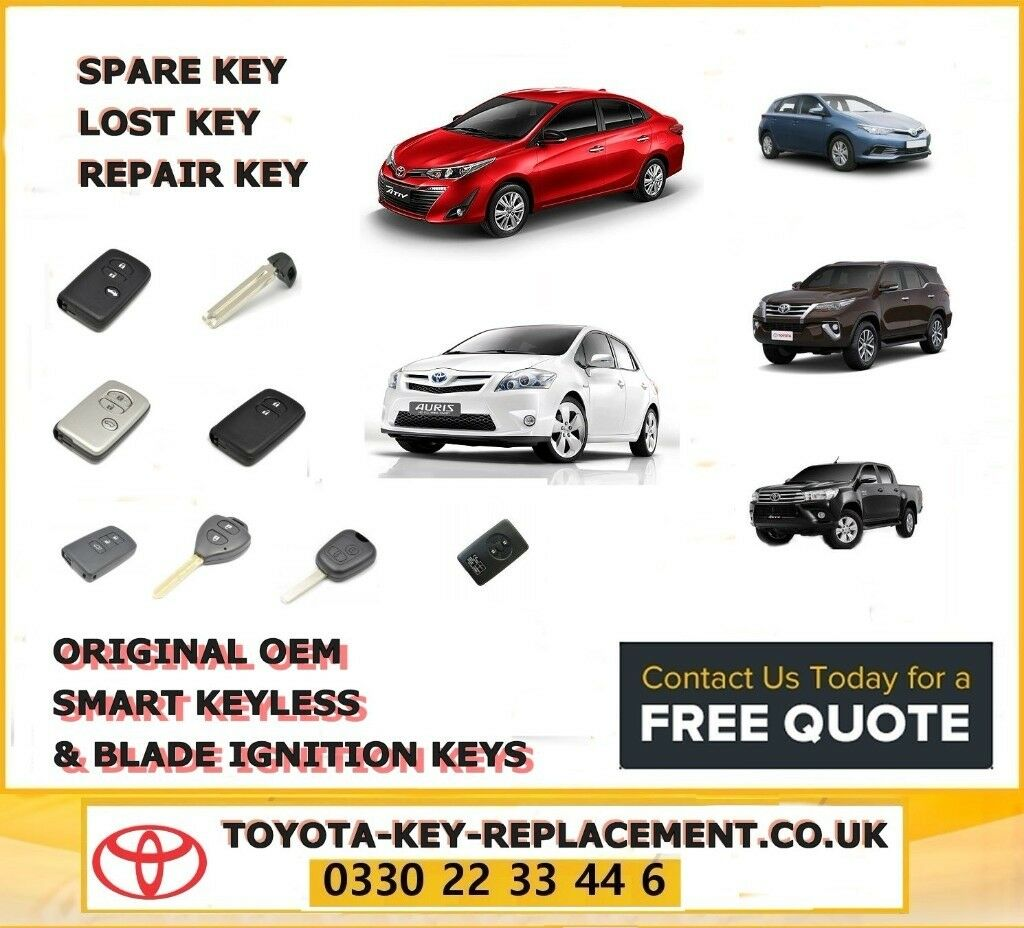 Toyota Key Replacement Replace Lost Toyota Keys Without Replacing