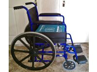 Affordable Care Folding Portable Self-Propel Wheelchair