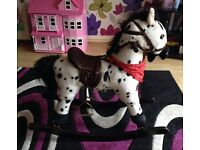 Beautiful rocking horse with horse sounds!