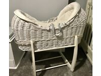 Mamas & Papas Welcome to the World Moses Basket and Stand
