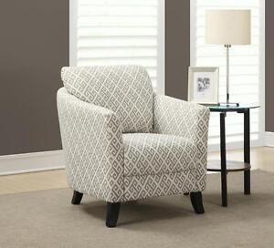 Sandstone Grey Accent Chair