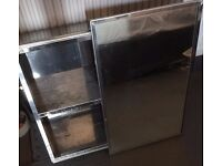 Mirrored Bathroom Cabinet - Sliding Door