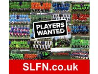 Get fit, lose weight, play 11 aside football in London. PLAY FOOTBALL IN MY AREA