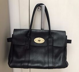 Genuine Mulberry Bayswater in Black