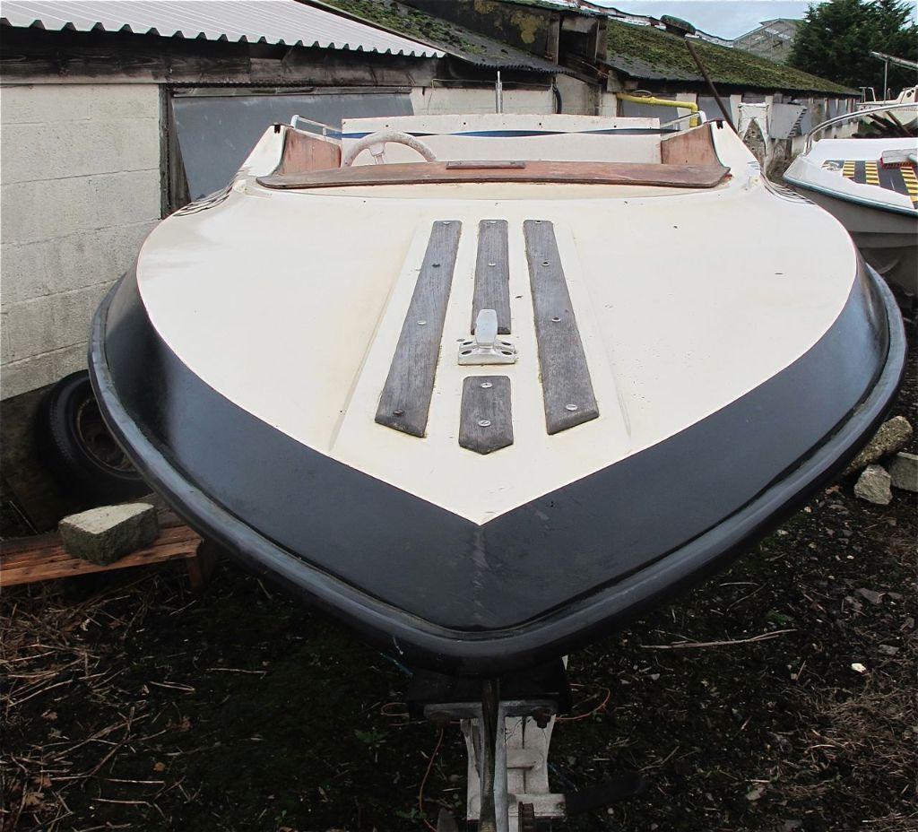 Dateline Bikini 14ft Speedboat Fishing Boat Only In Trailer Wiring Tridentuk