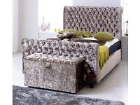 Amazing Crushed Velvet Beds