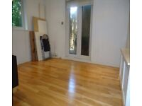 Includes bill. One bedroom flat with patio area very close to West Hampstead and Finchley Road tubes