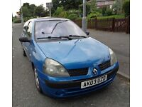 2003 RENAULT CLIO 1.5 DIESEL FOR SALE